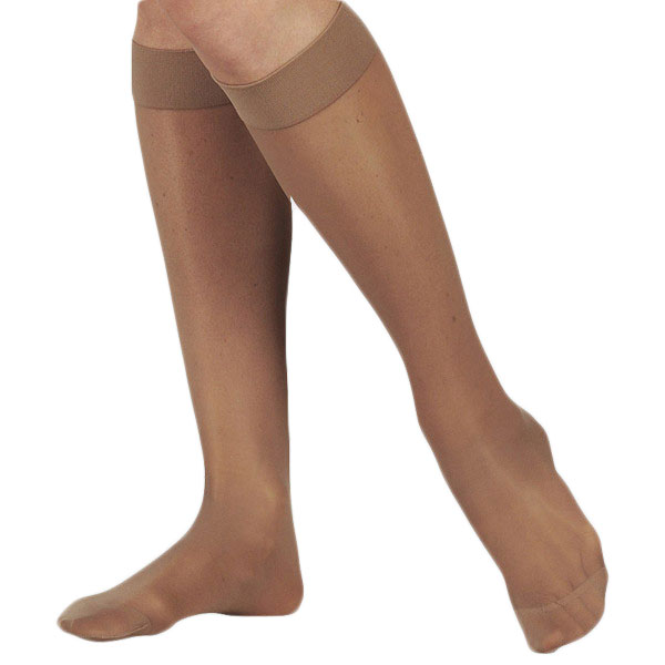 Juzo Naturally Sheer Knee High Compression Stockings