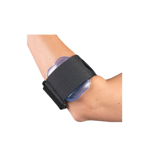 Champion tennis elbow strap with air pad comfort clinic