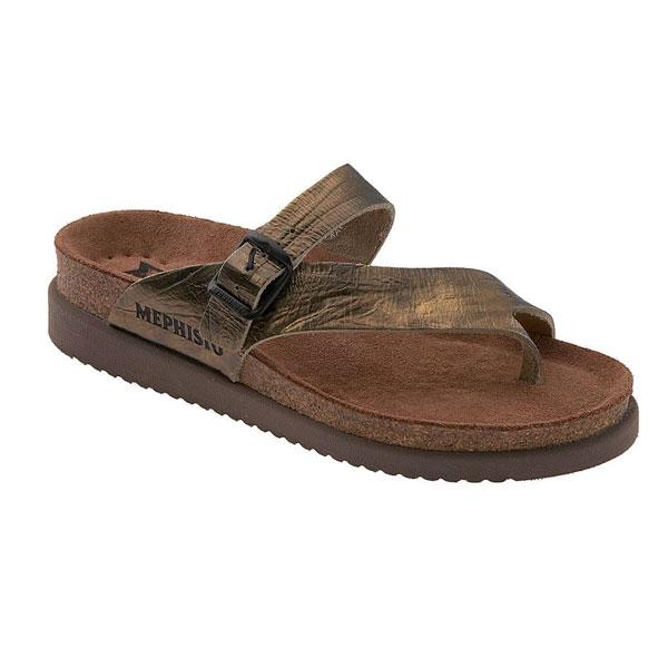 Mephisto Bronze Sandals for Women