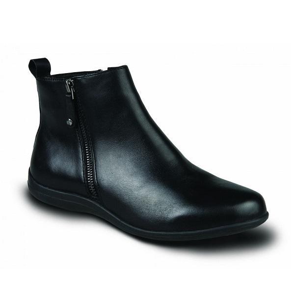 revere womens toronto ankle boot black