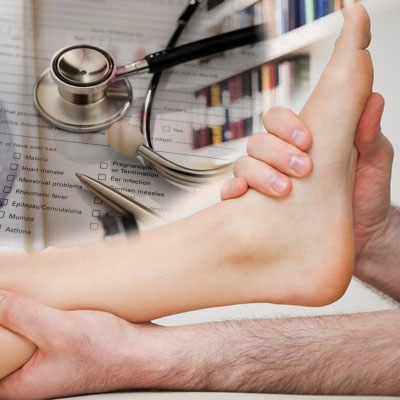 ankle pain