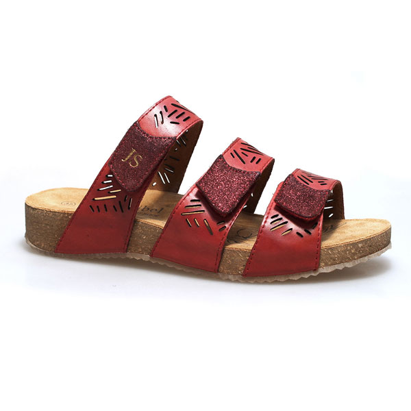 Josef Seibel Tonga Red Sandals
