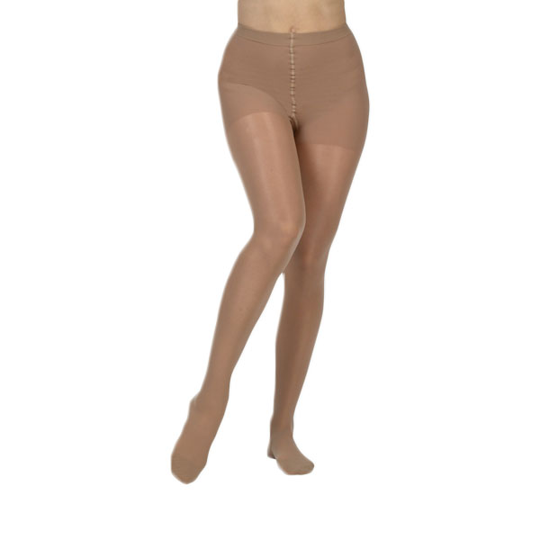 b375a4aed09 Juzo Naturally Sheer Pantyhose Compression Stockings 20-30