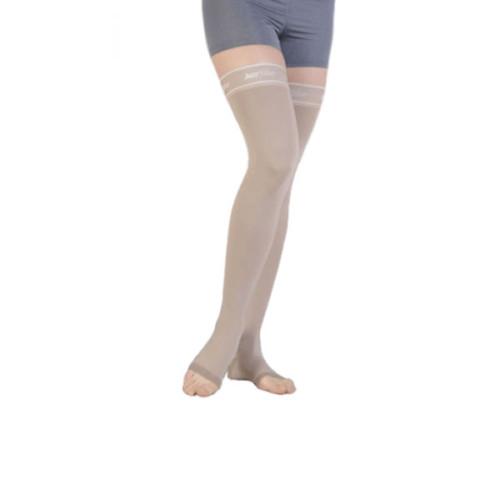 Juzo Silver Soft Thigh High Compression Stockings