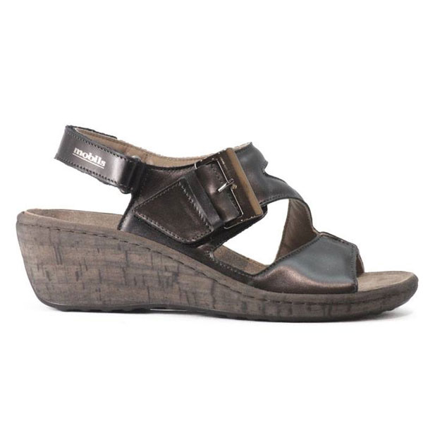 Mephisto Mobils Nottina Black Sandals