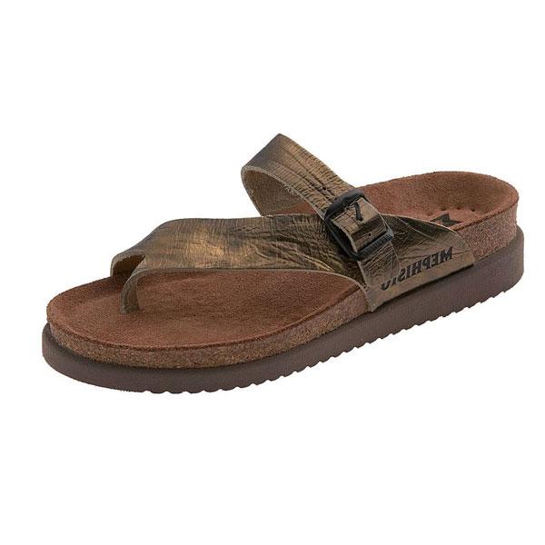 Mephisto Bronze Sandals