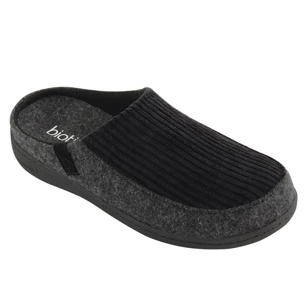 biotime ernie mens slipper black